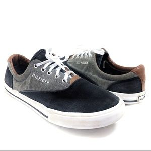 Tommy Hilfiger black canvas sneakers 8
